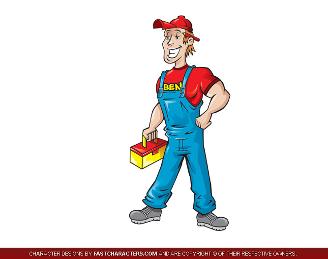 Design Cartoon Character Free : Cartoon mascot design