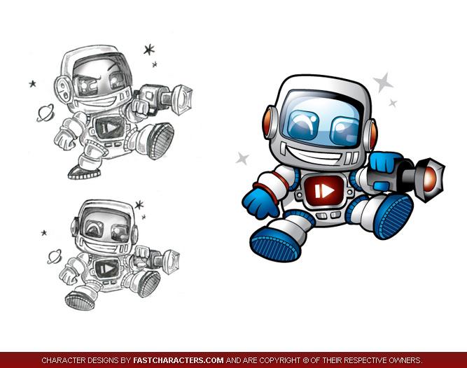 Cartoon Characters Voice Changer : Funny robo dog cartoon character devi khadgamala stotram
