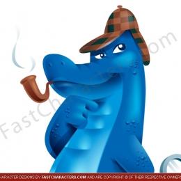 Gator mascot design