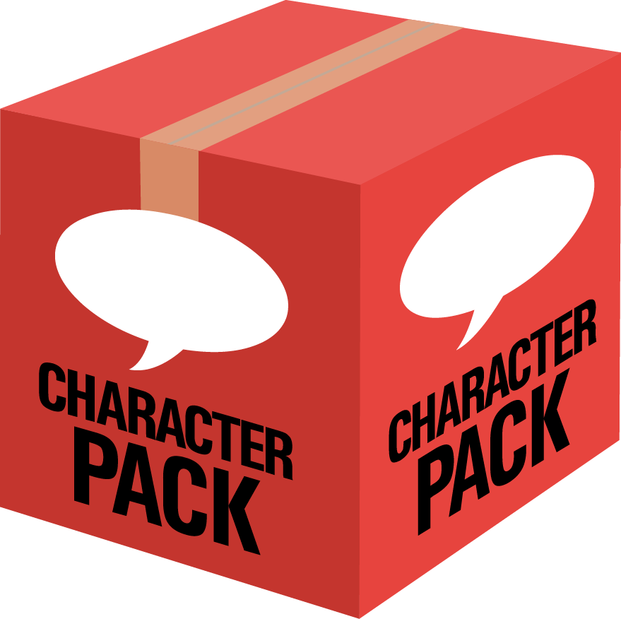 Your Mascot Design comes in our world famous Character Pack!