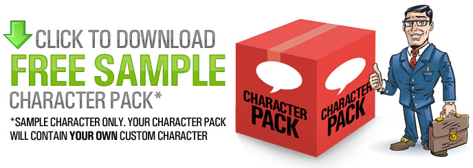 Download sample Character Pack