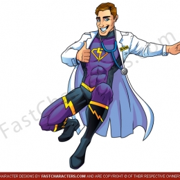 Super doctor character