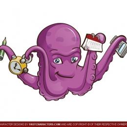octopus-mascot-design